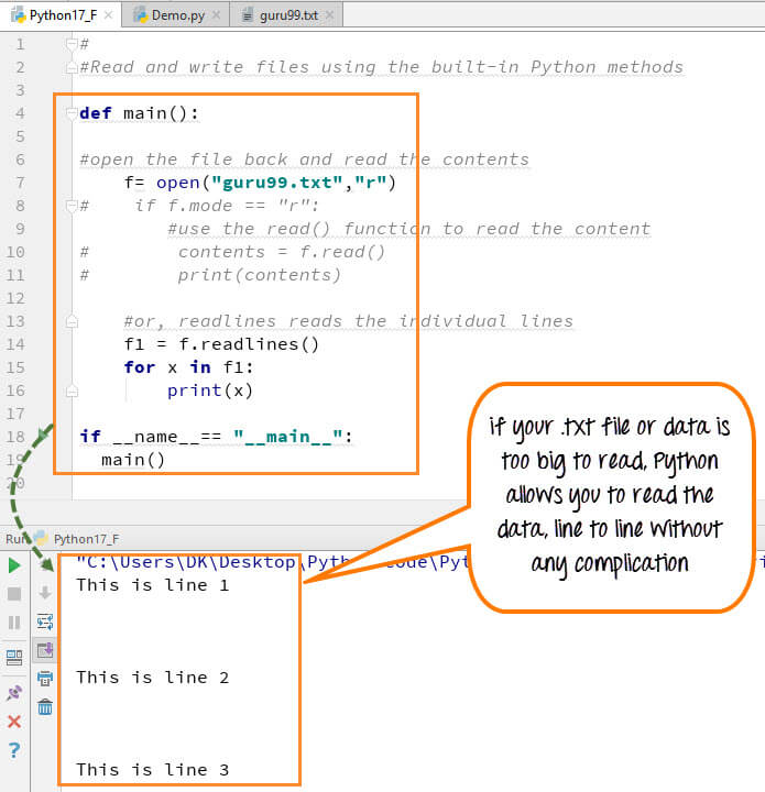 DAY5-step1 Python文件处理:创建,打开,追加,读取,写入