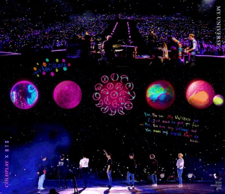 造型师让未成年女爱豆身着暴露打歌服;Coldplay-BTS音源成绩火爆?