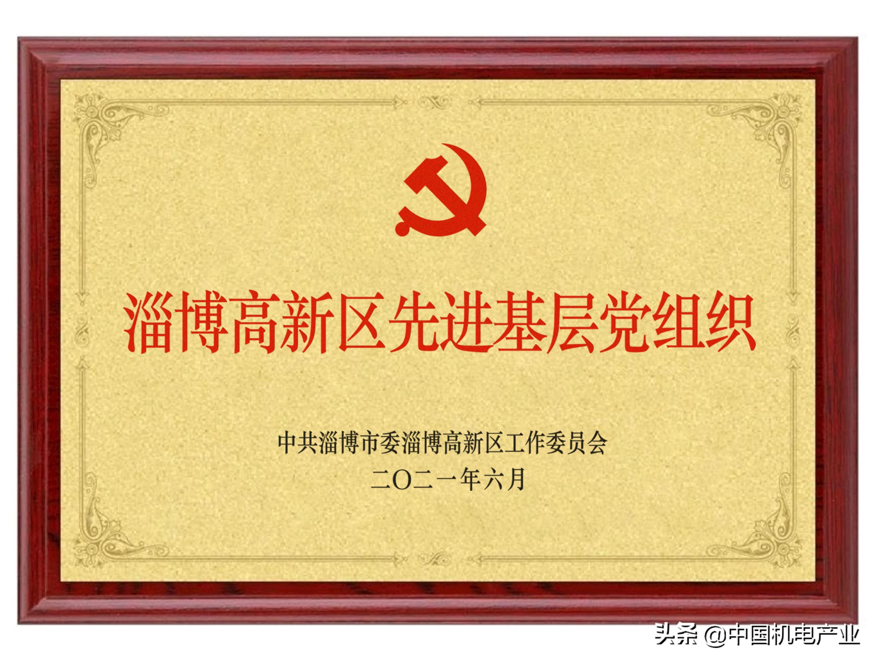 """德和泰集团党支部荣获""""先进基层党组织""""称号"""