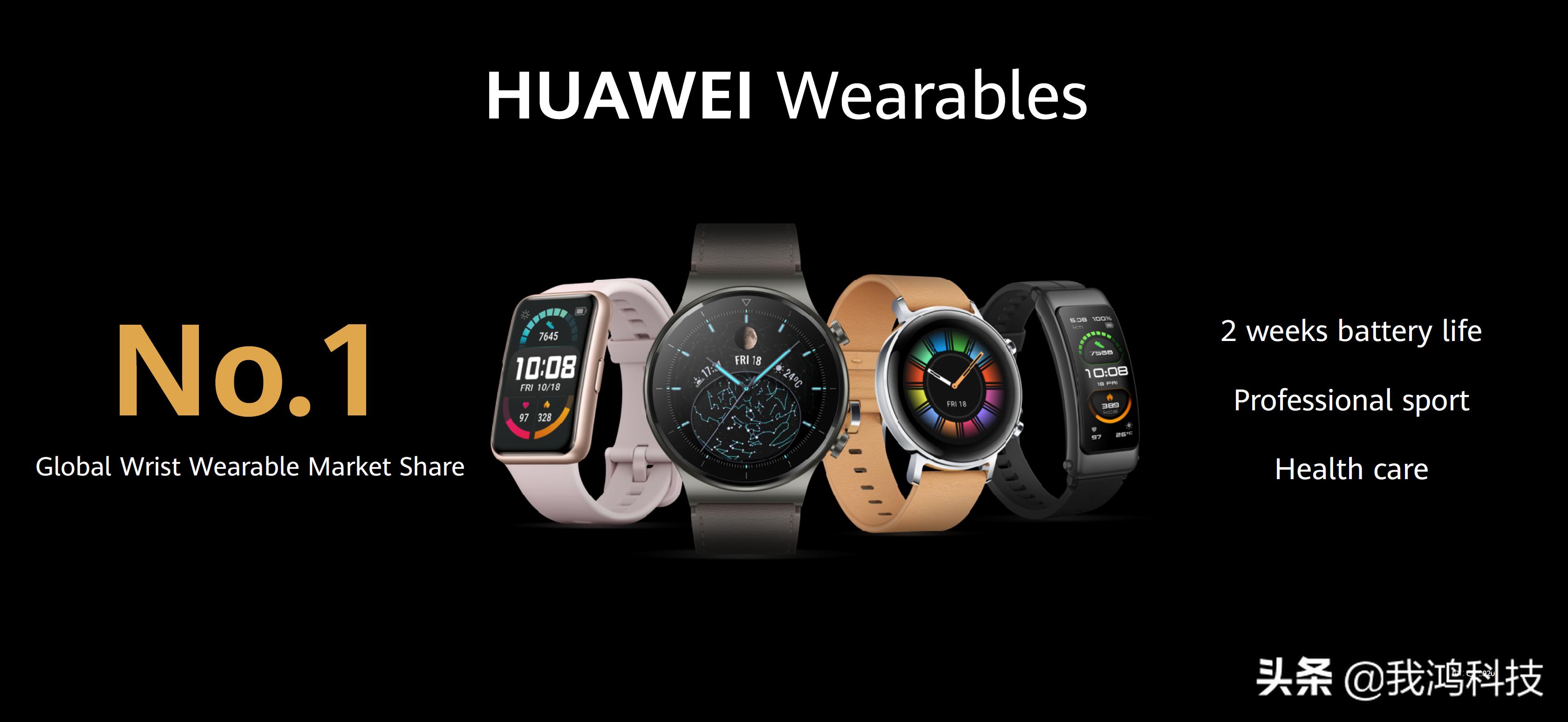 华为WATCH GT系列首款保时捷设计款:高端智能手表来了