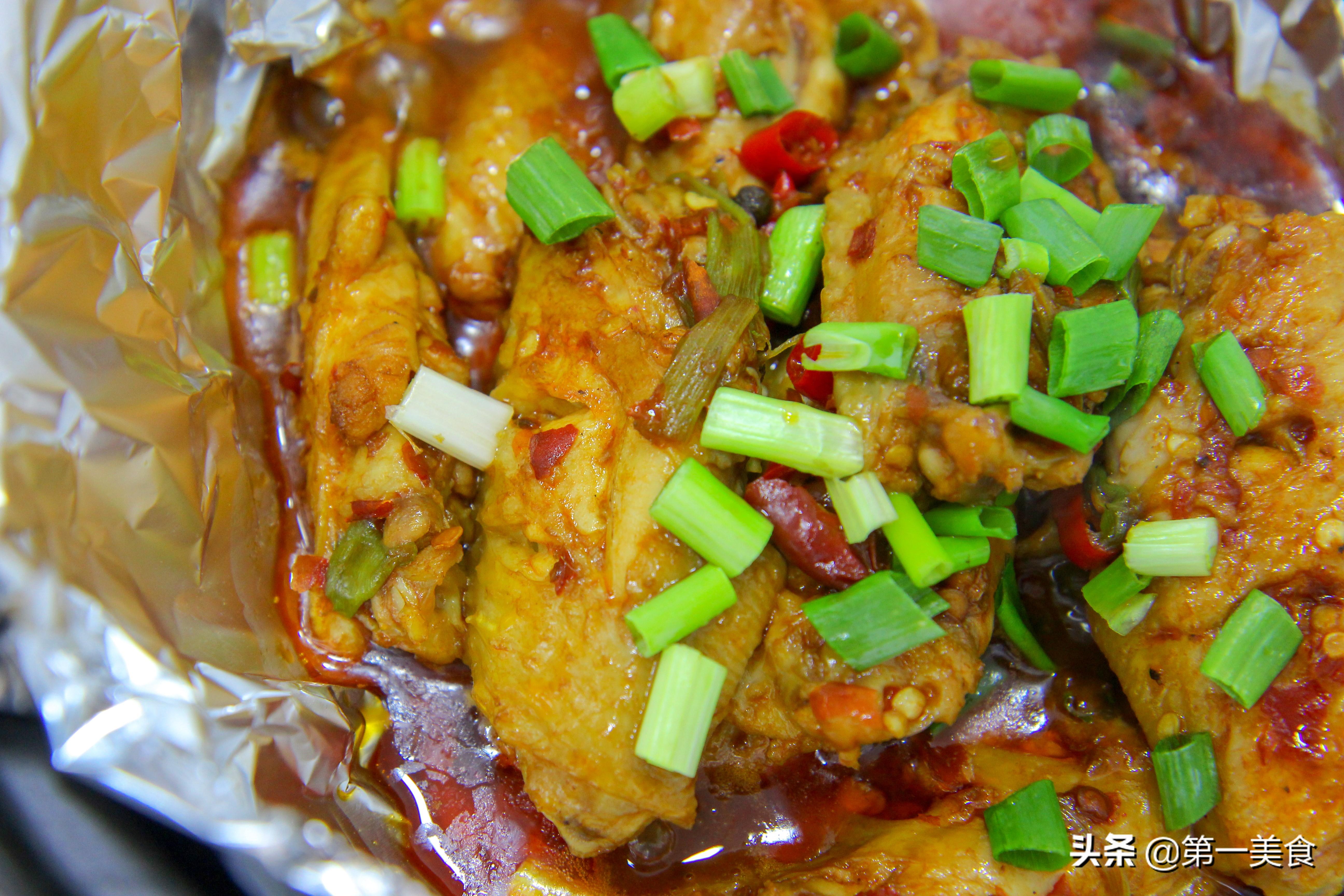 砂锅版的盐焗鸡翅做法 肉质鲜美 软烂入味又好吃 吃上一口满嘴