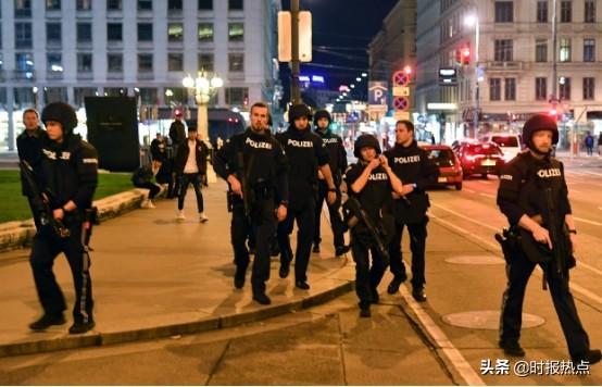 奥地利发生恐袭,凶手当街扫射,奥政府称绝不屈服