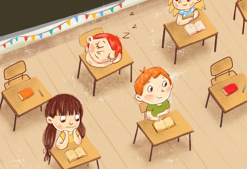 孩子是不是学习的料,从眼神就能看出,不用等他长大插图(5)