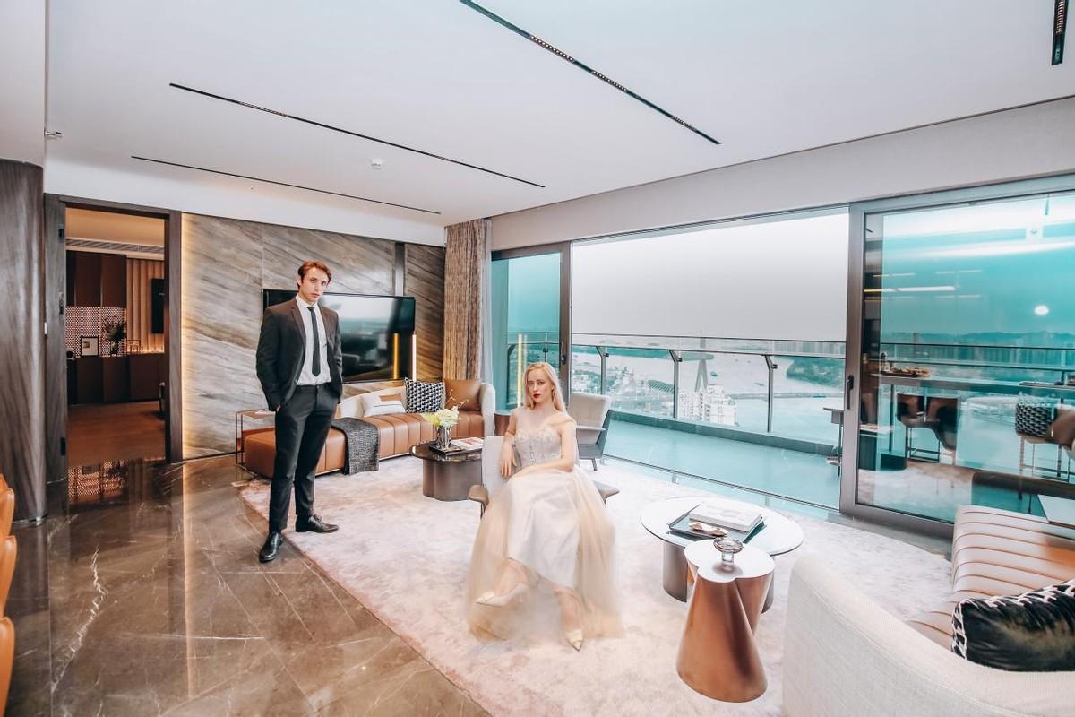 看看别人家的新品!海珠区千万级豪宅第一名楼王入市