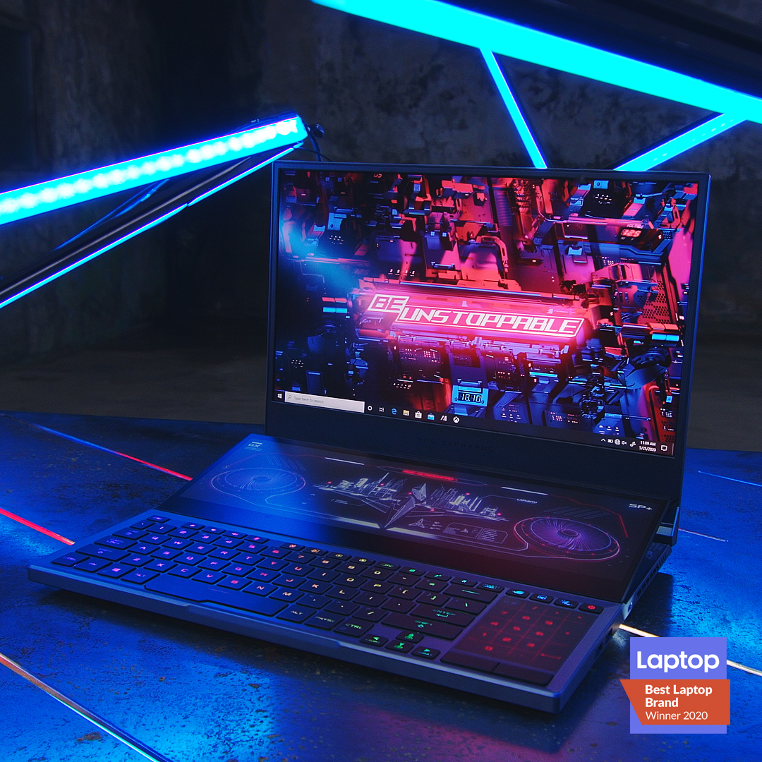 ROG幻14 & 冰刃双屏笔记本电脑获G-Mark设计大奖