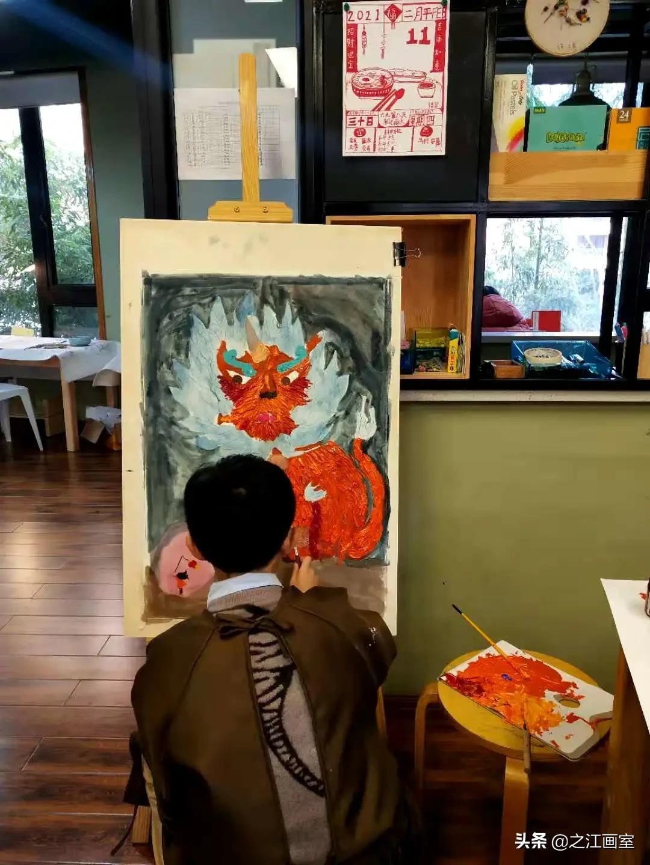 年兽大画作品回顾 |将童真的美好与岁月的欢愉,悉数保管