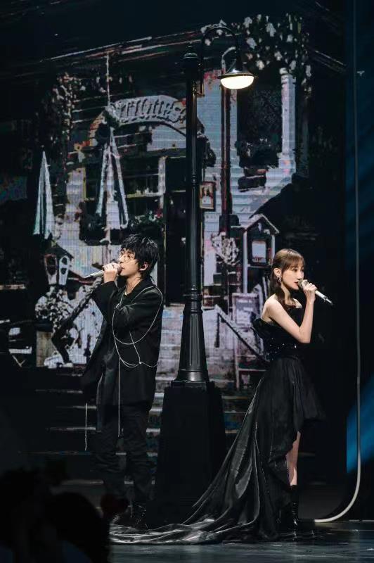 陈雪凝搭档唐汉霄登《为歌而赞》合唱百老汇版《绿色》太甜了