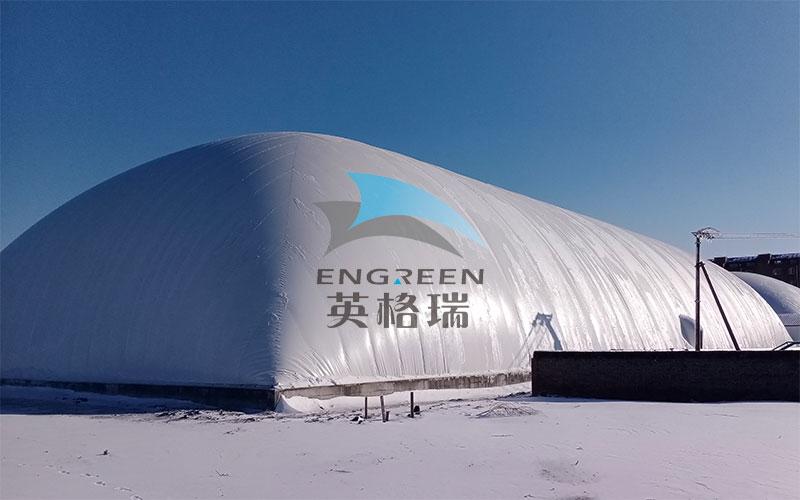 廉价易用的膜建筑仓库是冬季仓储的常用建筑