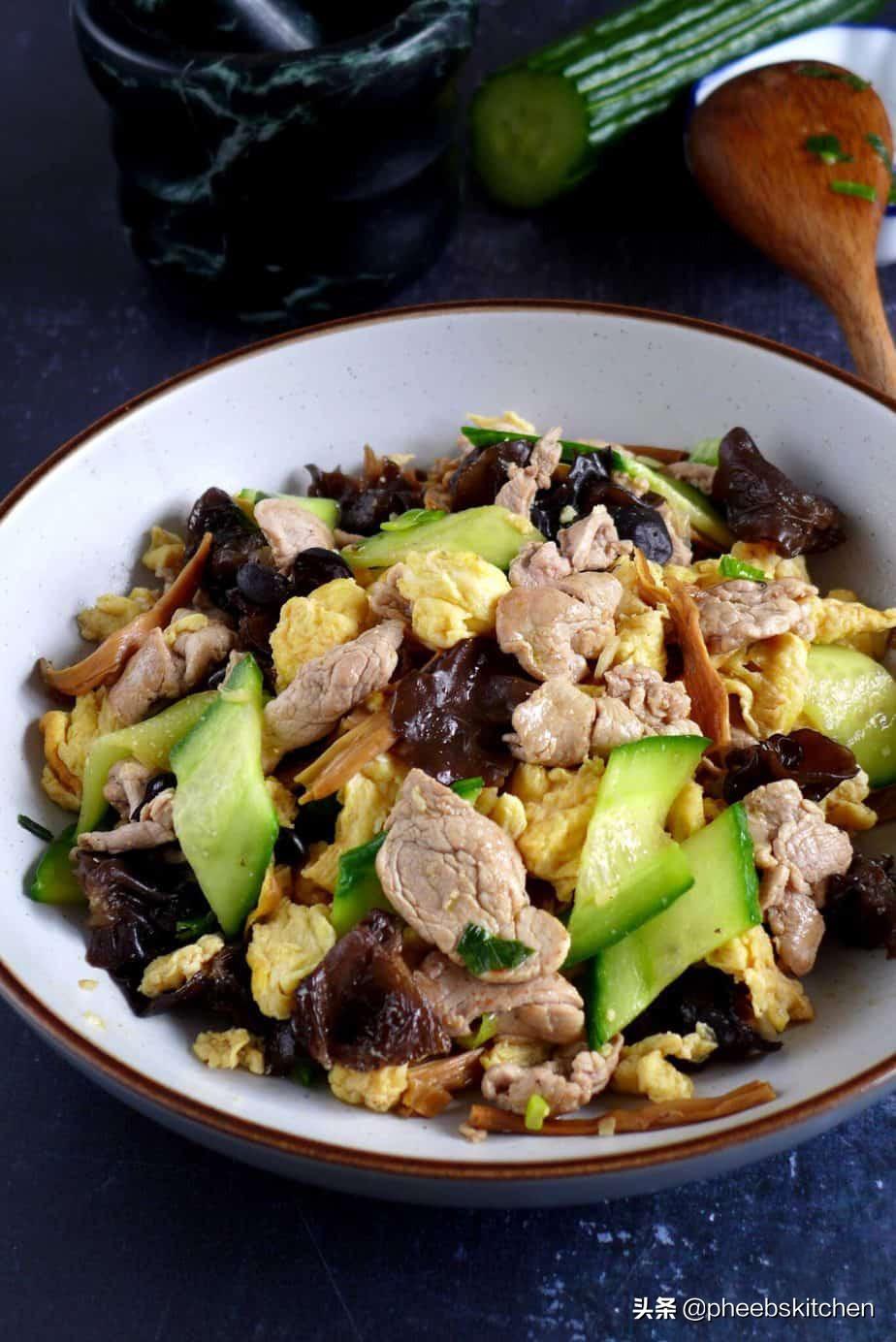 山东传统菜木须肉,营养丰富,很适合老人和孩子,家常做法 美食做法 第2张