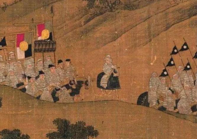 旌旗十万斩阎罗,古代行军打仗为何举众多军旗?是标志也是士气