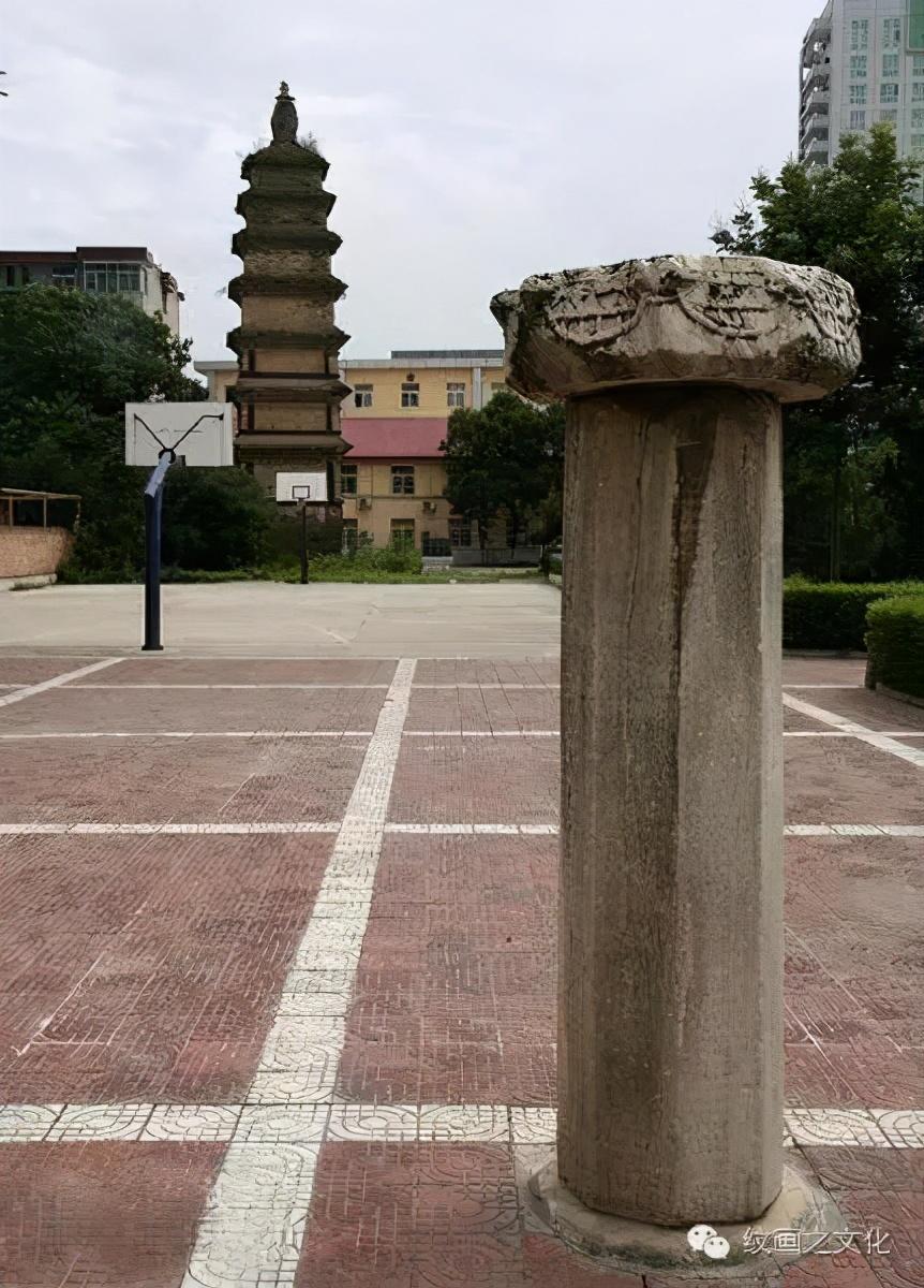 眉县政府大院里那个唐代经幢的故事