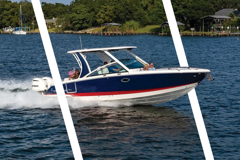 查帕拉尔Chaparral 300 OSX游艇,47节的高速可以吹去多少烦恼