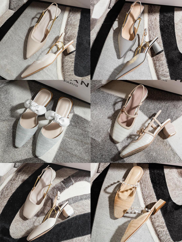 法式高級感涼鞋分享~好看不貴!讓你的腳丫也涼快涼快