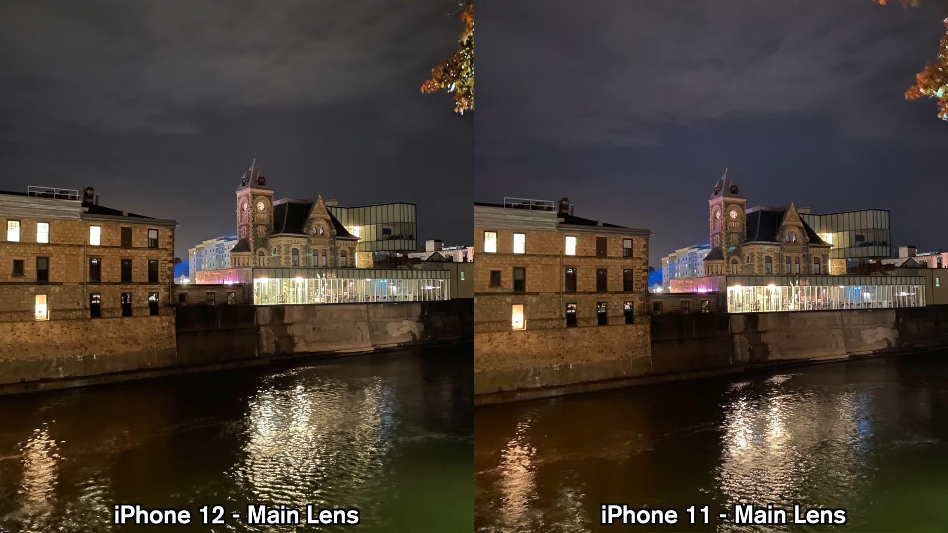 iPhone12和iPhone11拍照对比:都是双摄多大区别