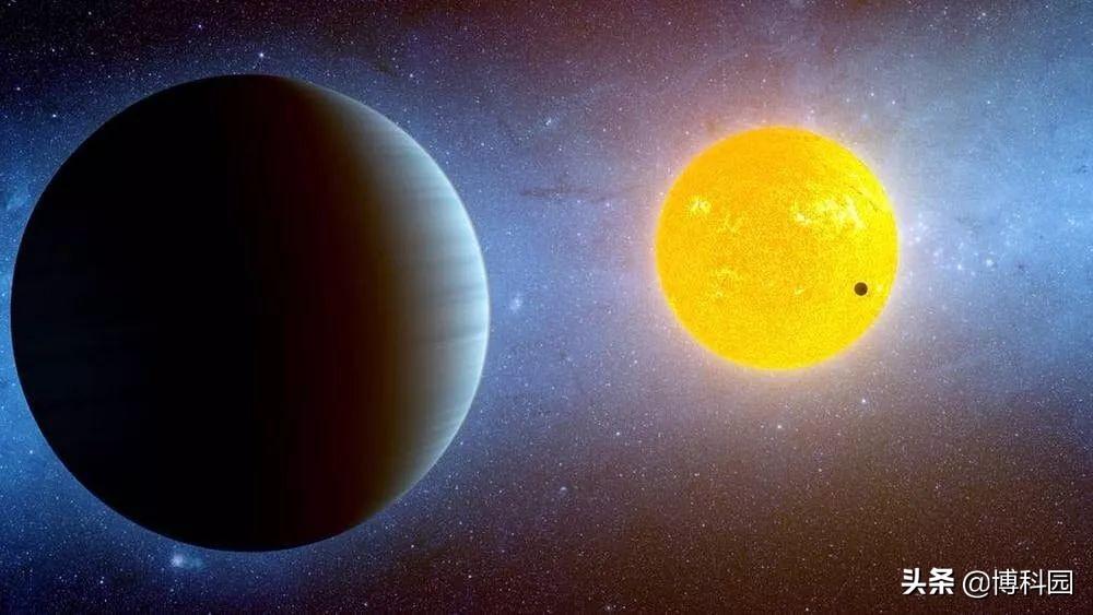 夜空中的星星就像太阳,周围环绕着行星,其中一些可能有生命?
