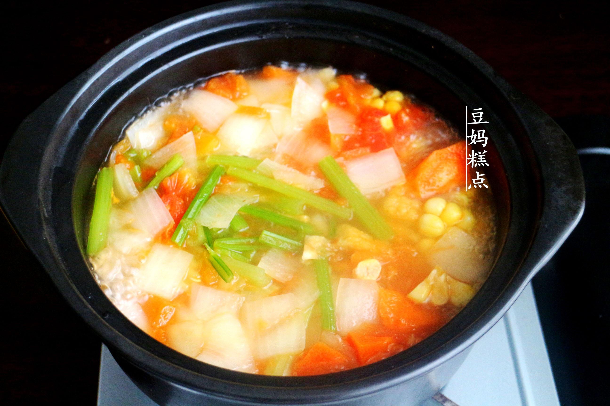 学做瘦身蔬菜汤,健康瘦身,营养不缺 减肥菜谱 第6张