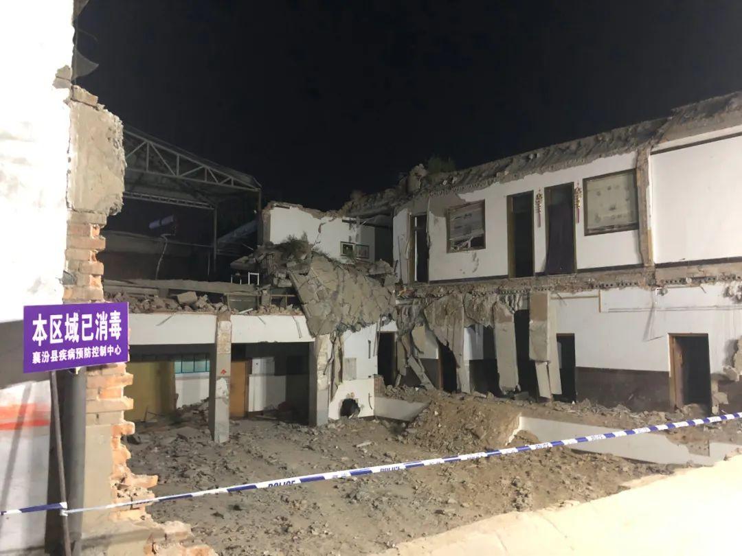 山西襄汾聚仙饭店坍塌29人遇难:如果没表演吸引,被掩埋人数会更多
