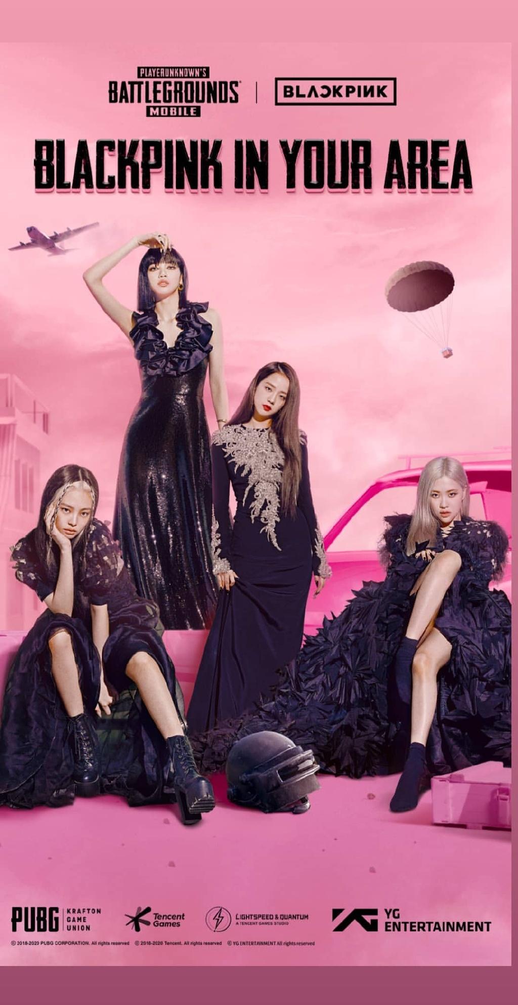 """首位韩流歌手!BLACKPINK与人气游戏""""吃鸡""""的特别合作"""