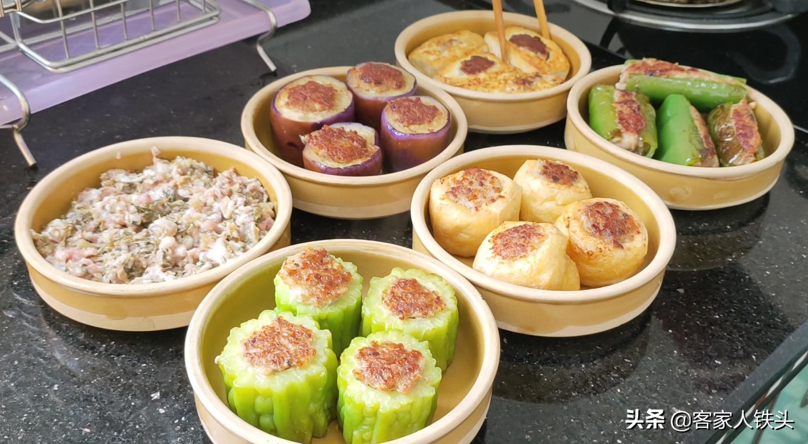 客家人百吃不膩的6道菜,教你一鍋做出來,一開鍋蓋,肚子都餓了