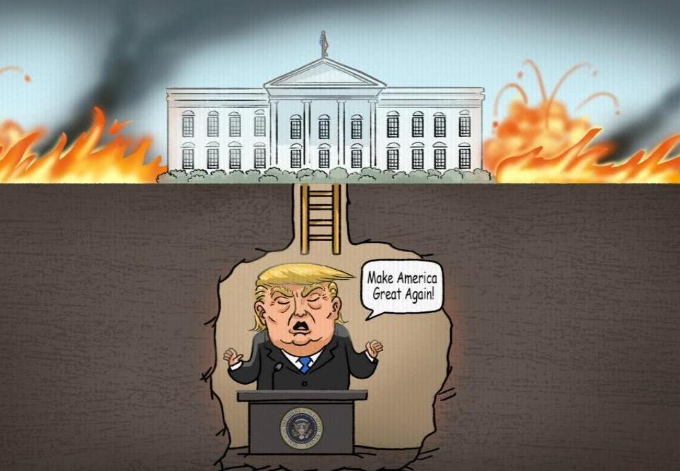 火箭彈在總統身邊爆炸! 阿富汗遭遇驚心一幕,外媒:比特朗普強