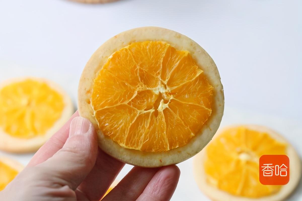 酥脆掉渣的香橙曲奇餅乾,揉一揉就成功,一口下去太驚艷