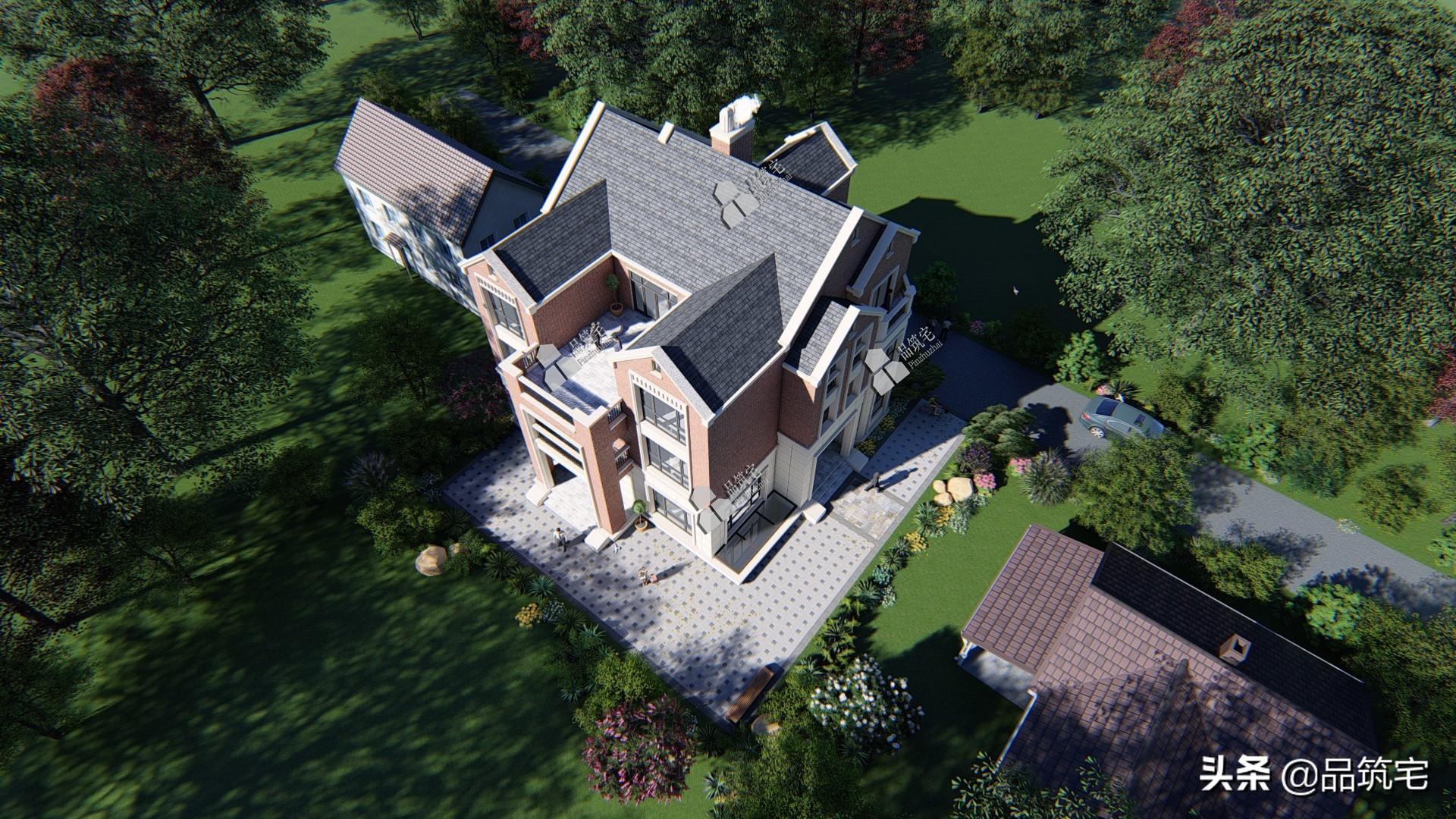 这栋三层英式别墅,处处都是有仪式感的生活细节