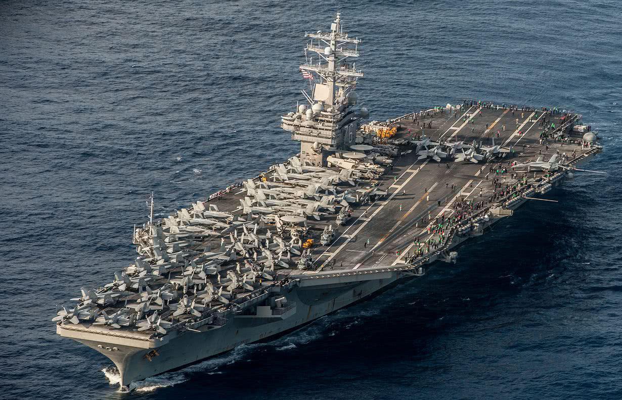 美军航母撤出亚太,拜登推出6万亿美元预算案,美国已力不从心了