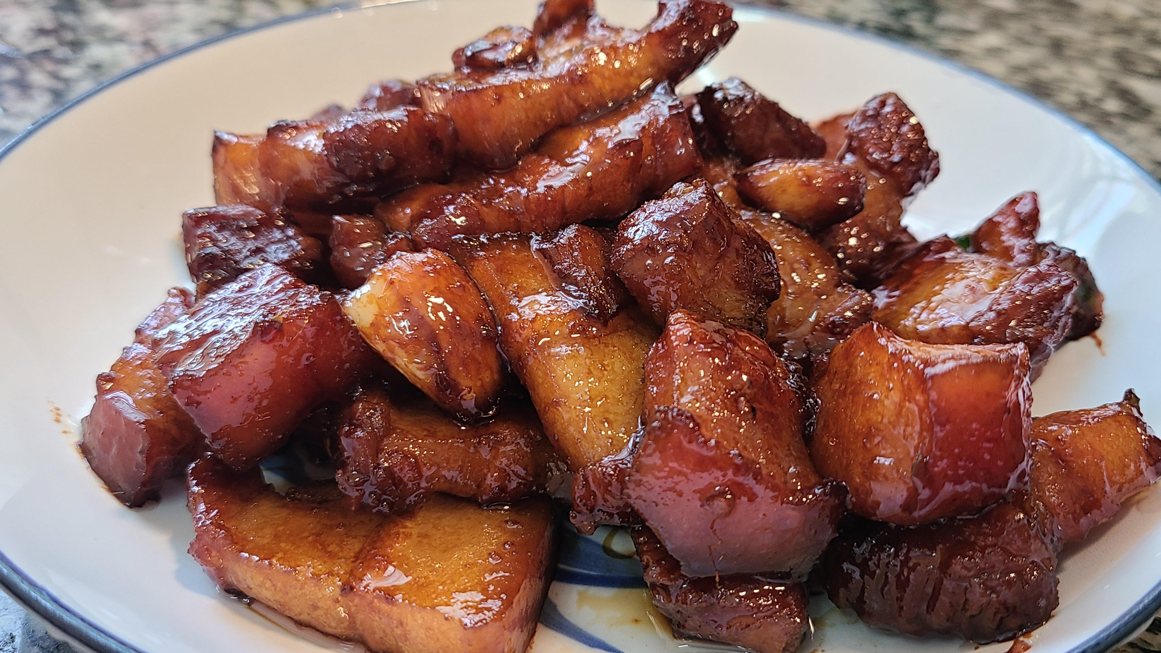 五花肉吃得多了,還是這種家常做法好吃,簡單下飯又營養