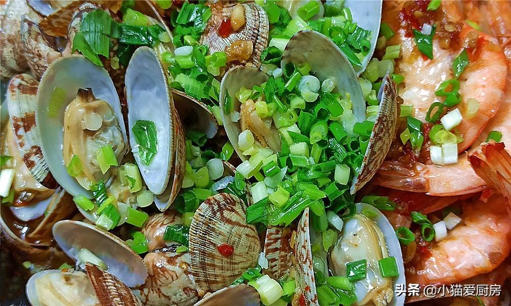 【海鲜粉丝煲】做法步骤图 这么做出来鲜美好吃 连汤都不剩