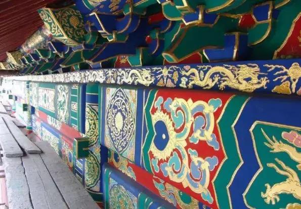 追溯古建筑彩画的起源及发展史
