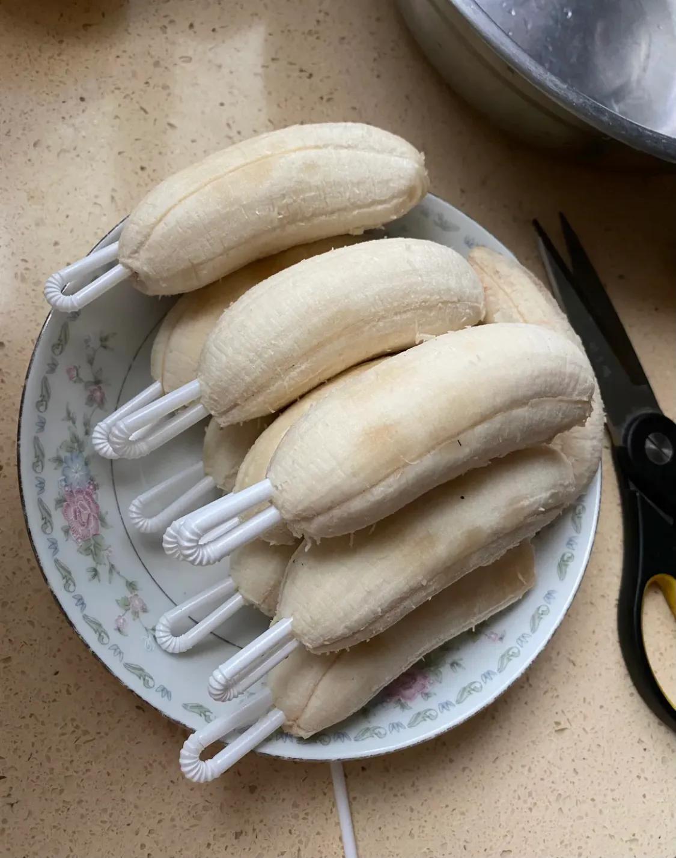 香蕉新吃法:香蕉冰棍,让这个夏天不再炎热!(建议收藏) 美食做法 第2张