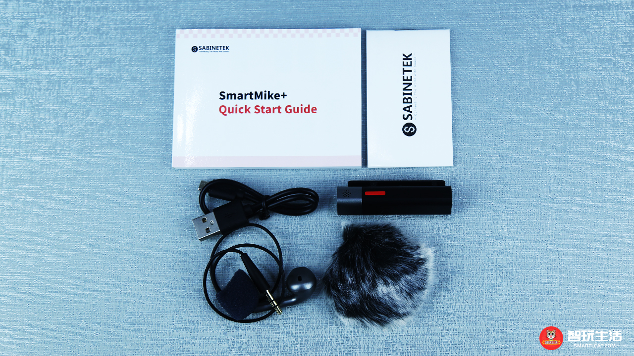 小巧玲珑能监听 塞宾SmartMike+蓝牙麦克风开箱图赏