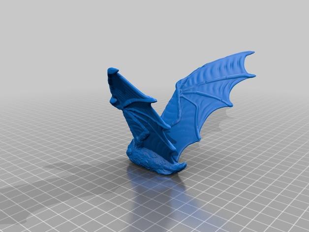 DIRE BAT丑陋的蝙蝠模型3D打印图纸 STL格式
