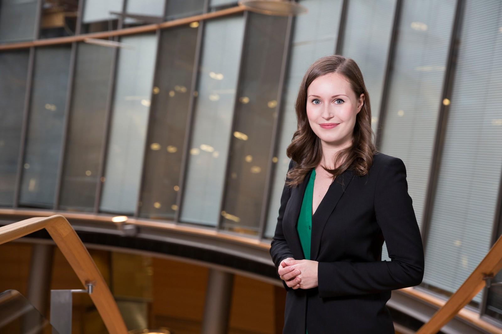 芬兰迎来史上最年轻女总理,娘子军攻占北欧政坛