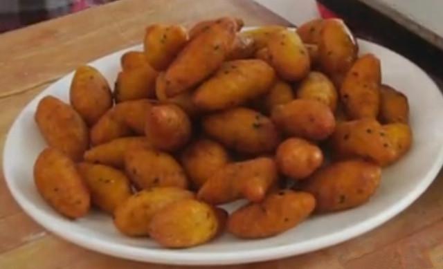 红薯新做法 外酥里糯 香甜可口
