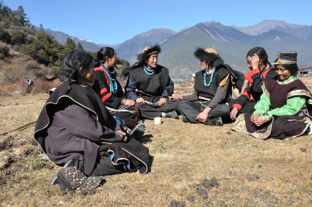 中国56个民族(五十五),珞巴族