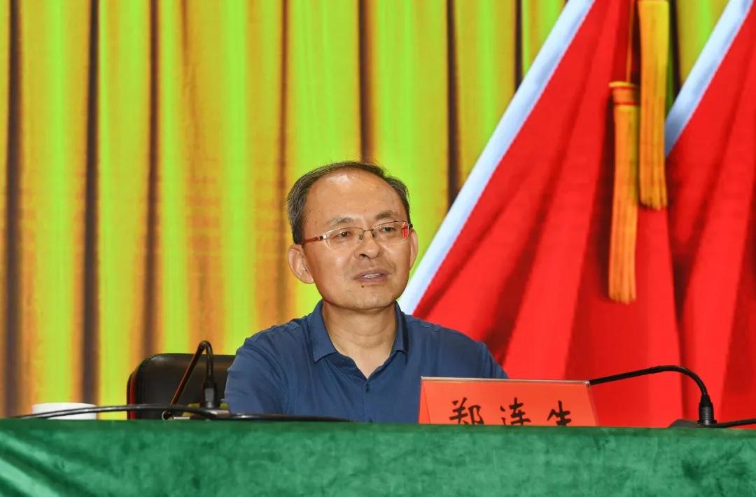 郑连生在党委书记专题培训班忻州分课堂作专题辅导