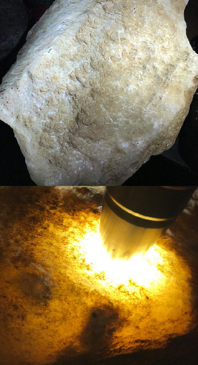 """鱼龙混杂的翡翠原石大发PK10要如何分辨一块原石是否为""""水沫玉""""呢?"""