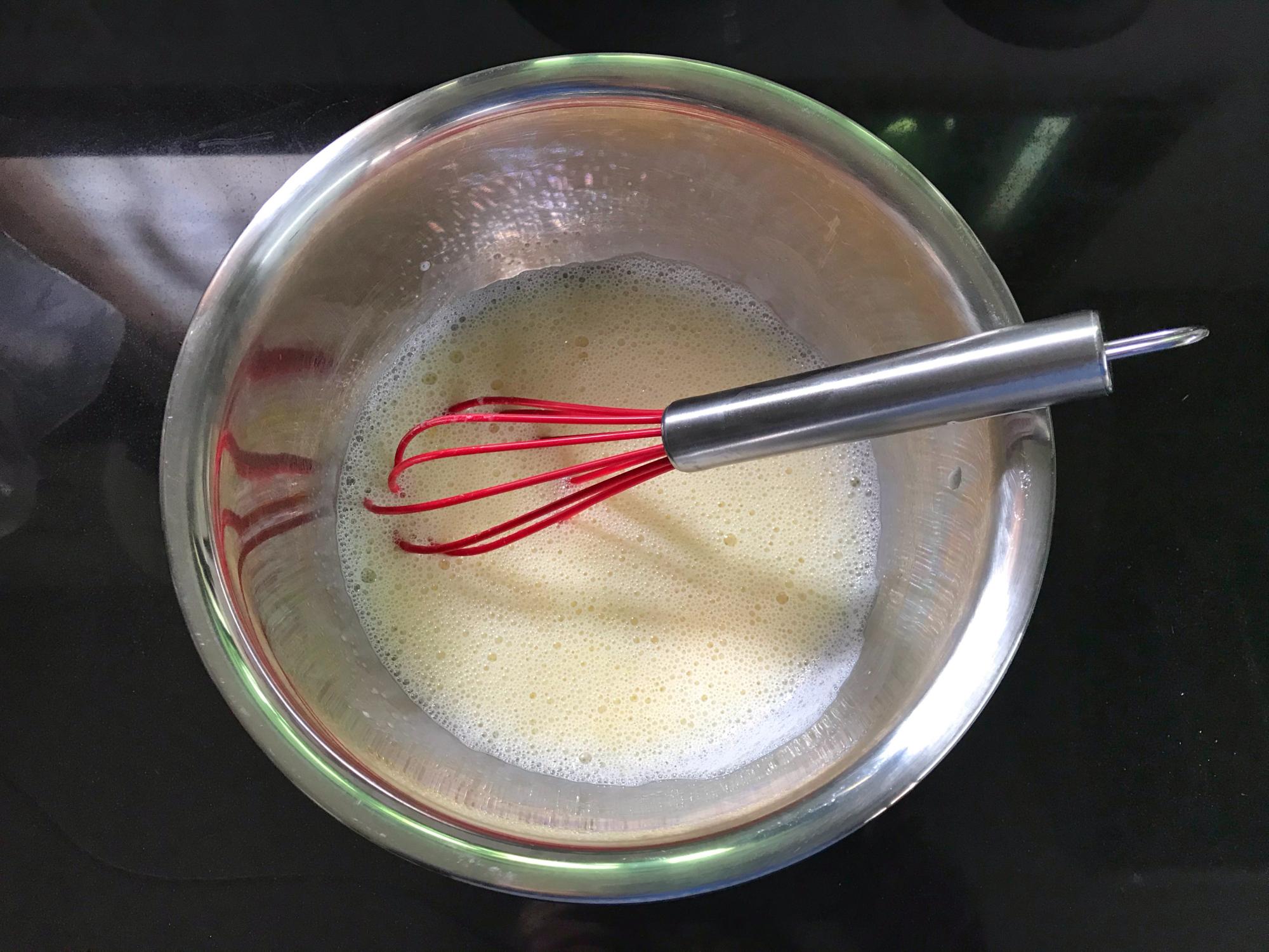 糯米粉還能這樣吃,加個雞蛋攪一攪,香酥軟糯,一口一個太香了