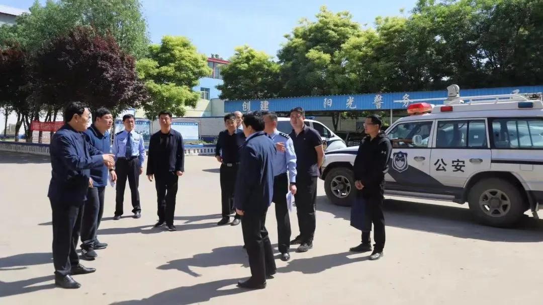 第八督导组莅临我局对公安队伍教育整顿查纠整改环节进行督导检查