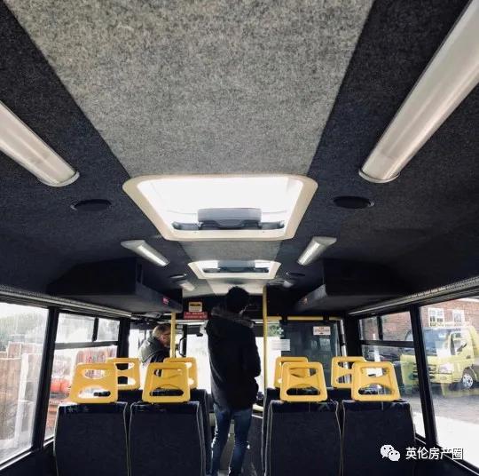 英国夫妻把小公交改造成一家五口住的房车
