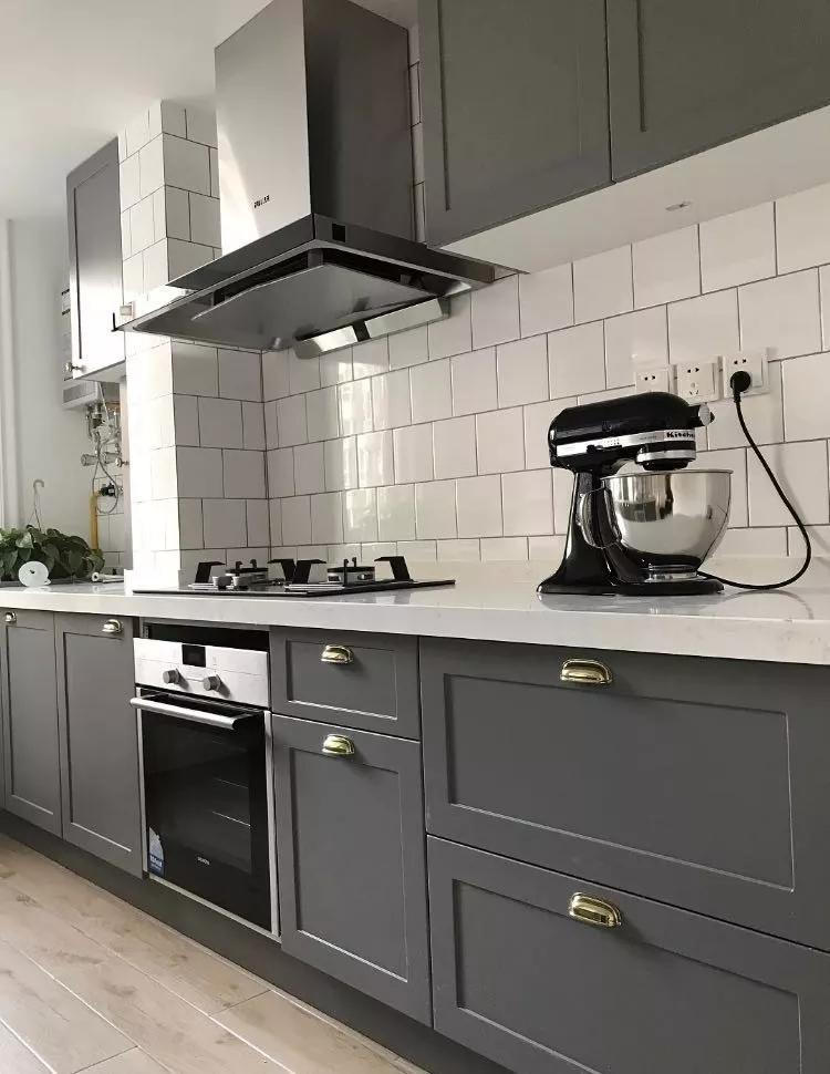 金牌设计师案例:小户型厨房5大装修风格,实用10年不过时