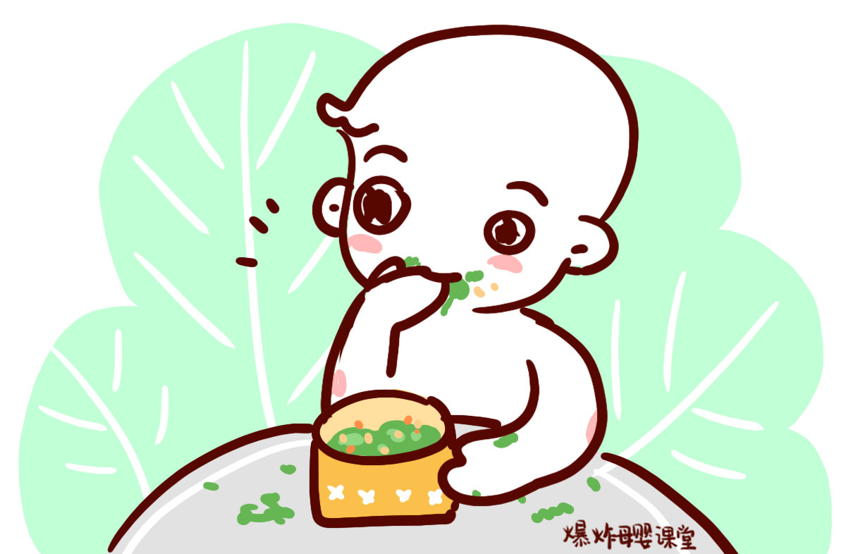 """为什么宝宝在添加辅食以后,晚上经常""""哼哼唧唧"""",总是睡不好?"""