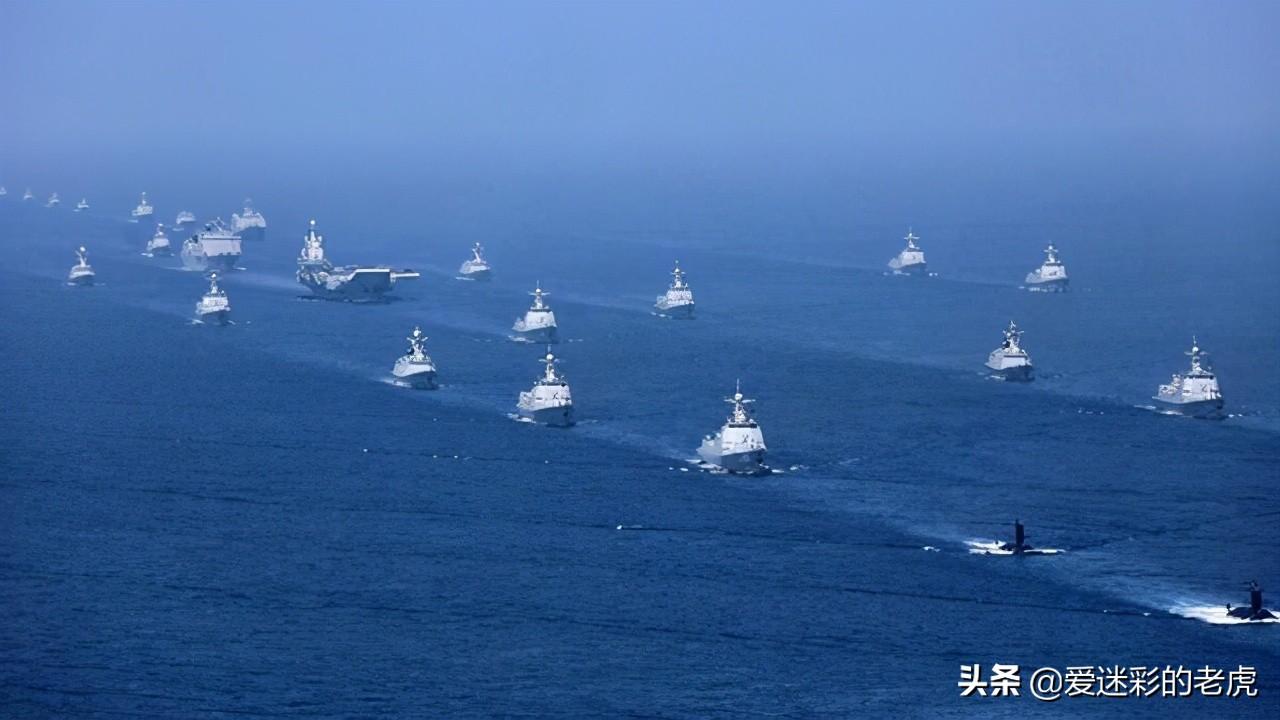 美国:第一次见到如此规模的国外航母舰队 中国:慢慢适应吧