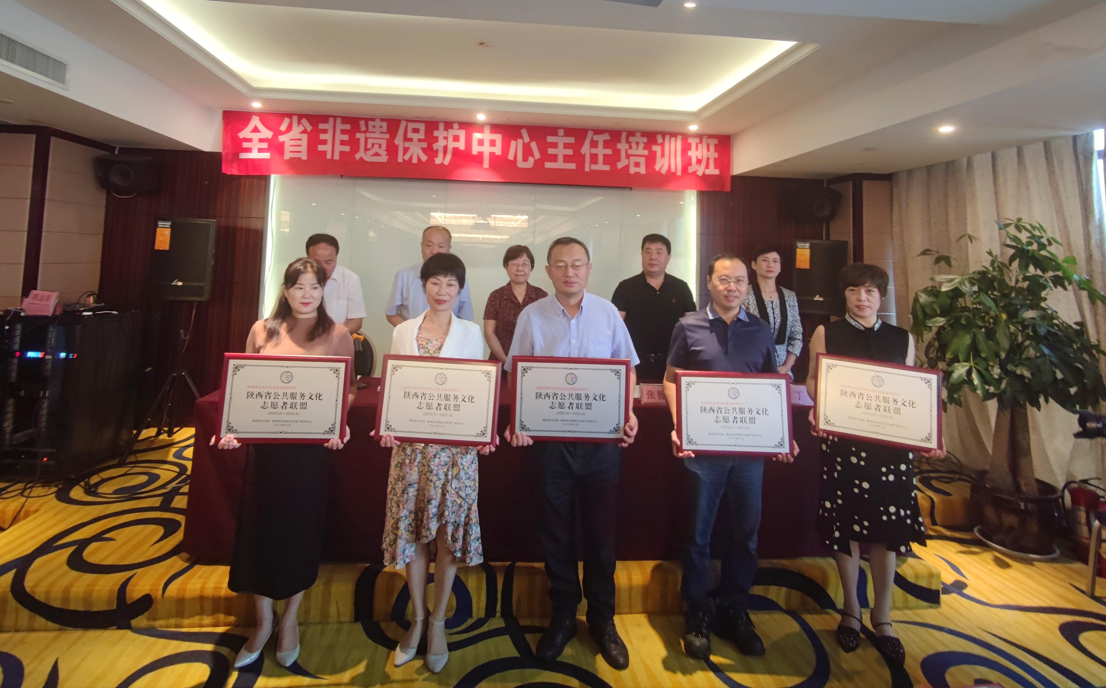 陕西省公共服务文化志愿者联盟成立