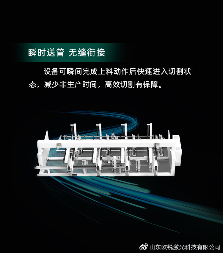 曜目新生,疾速赋能 全自动高速激光切管机TA6020
