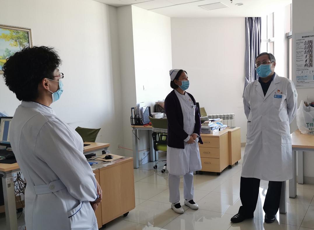 青海省第五人民医院开展行政查房及元旦节前安全生产大检查