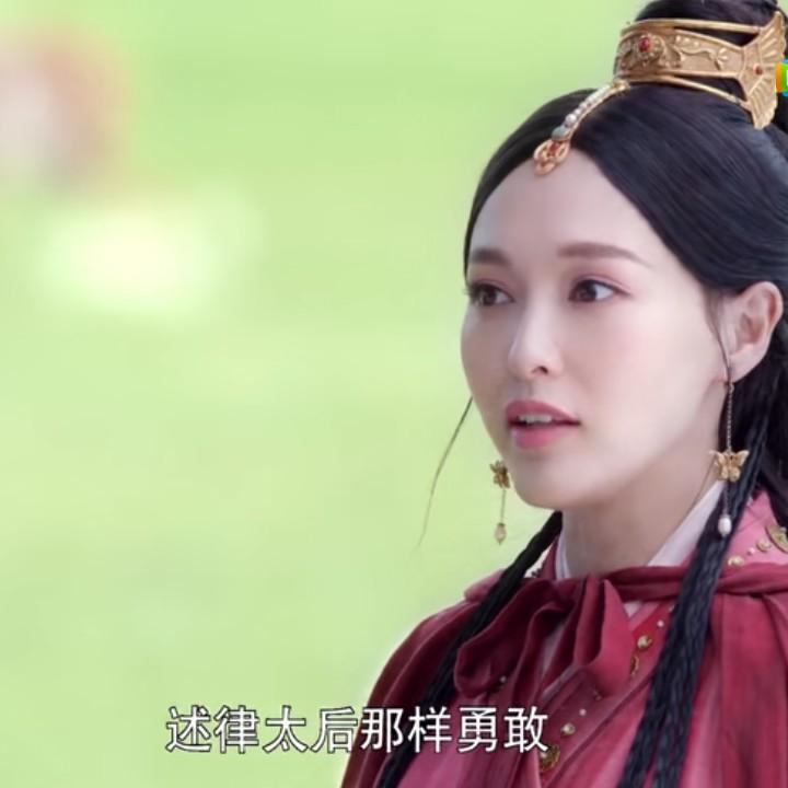 《燕云台》:萧燕燕成为萧太后是有原因的,你看看她的偶像是谁