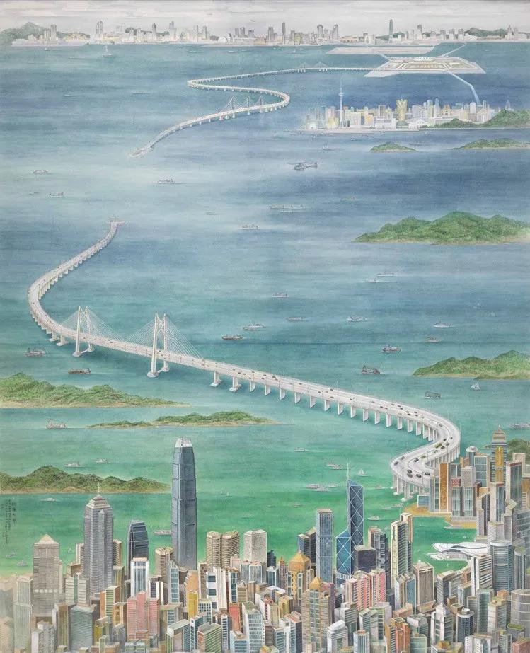 庆祝中国共产党成立100周年美术作品展览欣赏(五)