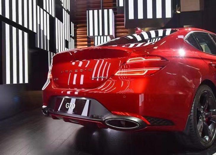 捷尼赛思G70正式开启预售 预售价25.58-36.18万元 推限量版车型